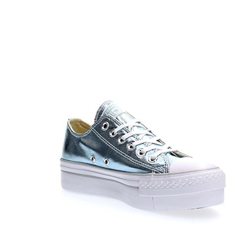 Ox Platform Conversechuck All Metallic Canvas Star Taylor 8ttgqFT
