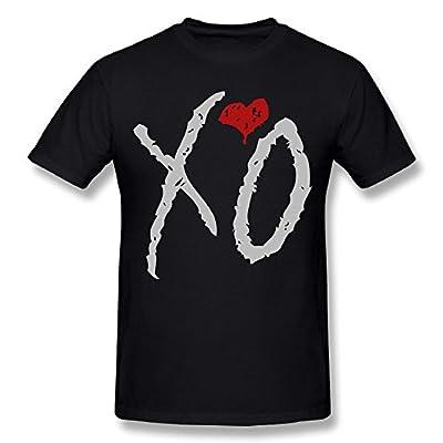 TEE-Men's The Weeknd XO Eyes T-Shirt Shirt.