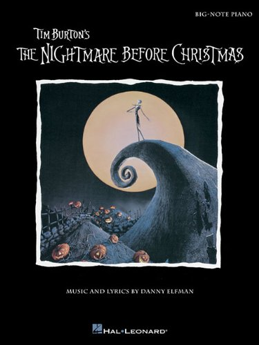 Download Tim Burton's The Nightmare Before Christmas: Big-Note Piano pdf
