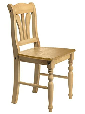 Heine Set Stühle 2 Stck Natur Gedrechselte Beine Amazonde