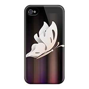 New Arrival Cover Case With Nice Design For Iphone 4/4s- Butterfly