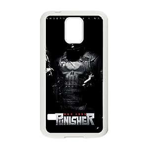 Alta resolución Punisher War Zone Cartel Samsung Galaxy S5 caja del teléfono celular funda blanca del teléfono celular Funda Cubierta EEECBCAAL75711