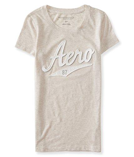 Aeropostale Womens Script 87 Embellished T-Shirt 255 M from AEROPOSTALE