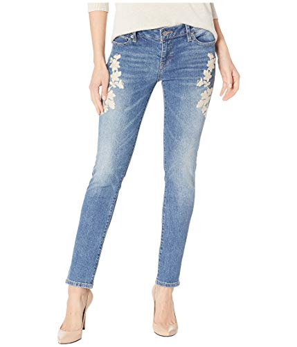 (Lucky Brand Women's MID Rise Lolita Skinny Jean with Embroidered Pockets in Avon, 28 (US 6))
