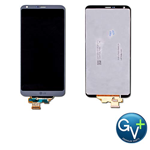 Group Vertical Replacement LCD Digitizer Assembly Compatible with LG G6 (Ice Platinum) (GV+ Performance)