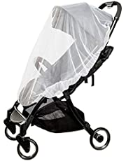 Baby Mosquito Net for baby Strollers, Carriers, Car Seats, Cradles, Pack'n'Plays, Cribs,Bassinets & Playpens. High Density Baby Insect NettingElastic & Breathable By Sportsvoutdoors