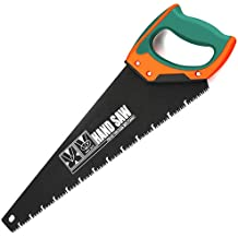 """AIRAJ 18"""" Quick Cutting Hand Saw,Perfect for Sawing, Pruning,Trimming Gardening and Cutting Wood Drywall Plastic Pipes Branches and More Comfortable Ergonomic Non-Slip Handles"""