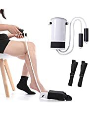 Sock Aid Tool -Socks Helper and Pants Assist straps for seniors, Disabled,Pregnant, Diabetics - Pulling Assist Device,Fanwer(Blue)