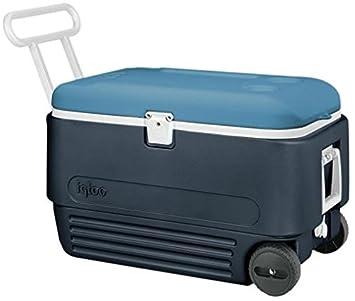 6489572c413 Igloo Maxcold 60qt Cool Box With Wheels.  Amazon.co.uk  Sports ...