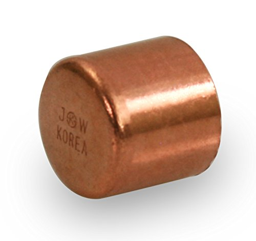 Everflow Supplies CTEC0200 Copper Cap with with Sweat Socket, ()
