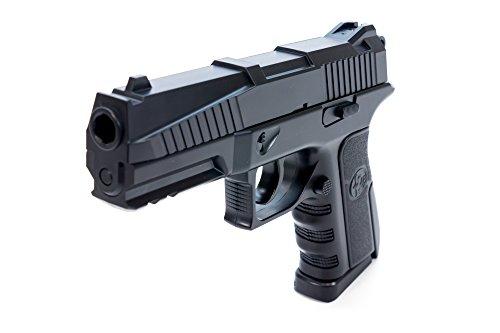 Semi Auto Co2 Air Rifle (Bear River BR45 Semi-Auto CO2 BB Pistol Airgun Shoots .177 Cal 4.5mm Ammo)
