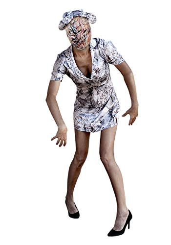 Trick or Treat Studios, Women's Silent Hill Nurse Costume, X-Large, White -