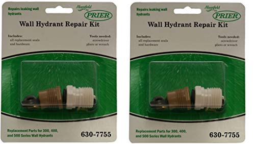 Prier. 630-7755 Wall Hydrant Repair Kit(2-Pack)
