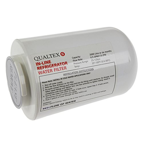 Qualtex WF401 Replacement for Amana Clean N Clear WF401 Refrigerator Hose Filter
