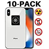 Radiation Protection for CELLPHONES/Laptop - Anti EMF/EMR Radiation Sticker - Radiation Shield Blocker - Remove Electronic Technologies Radiation - 40 Pack Bundle Deal!