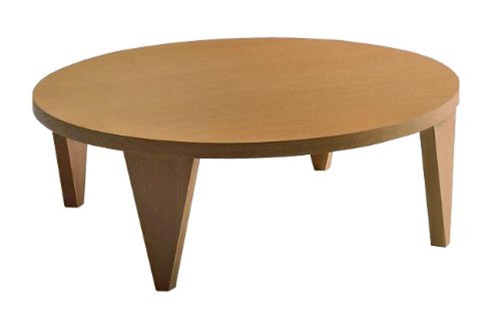 WESTPOINT(ウエストポイント) フローアーテーブル ナチュラル色 120-R B009GUEMJU ナチュラル ナチュラル