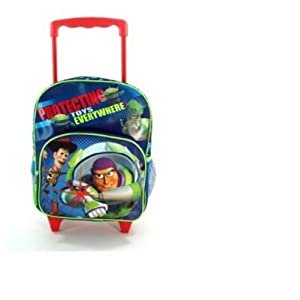 Disney Boys Toy Story Blue Protect Toys Everywhere Backpack (Blue)