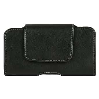 Men's Leather Holster Case for BlackBerry Priv / Leap / Z30, Classic Black