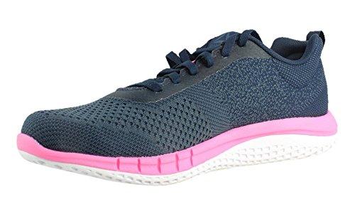 Reebok Women's RBK Print Run Prime Ultk Sneaker, Avon-Coll Navy/Small Indigo, 9.5 M US by Reebok (Image #1)