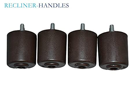 Captivating Replacement Furniture Legs 2 Inches (Set Of 4) Plastic   Brown By Recliner