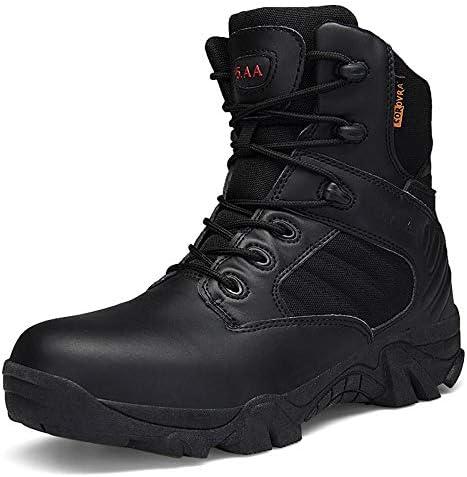 WERT Militärstiefel für Männer wasserdichte Wüstenstiefel Wanderschuhe Patrol Durable Hoch-Spitzen Forces Stiefel Non-Slip Tactical Stiefel