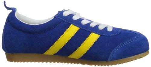 Toughees Shoes Northstar Trainer - Deportivas de poliuretano unisex azul - Blue/Yellow