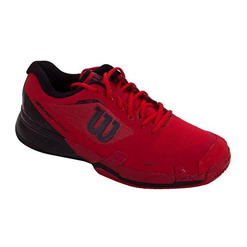 Wilson Wrs322180e105, Scarpe da Tennis Uomo, Rosso (Rojo High Risk Red / Black / Barbados Cherry), 45 1/3 EU