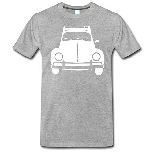 Vdubster Graphic Tees VW Beetle Classic Custom Printed T-Shirt (Small) - Custom Screen Printed T Shirts
