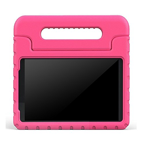 BMOUO ShockProof EVA Handle Stand Kids Case for Samsung Galaxy Tab A 8.0 – Rose  samsung tab a 8.0 case | Galaxy tab A 8.0 flip / book snap on cover [official/original] 41GFfyIvEBL