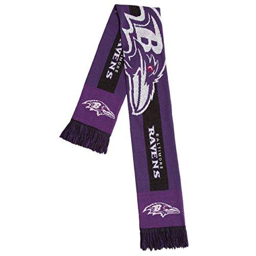 NFL Baltimore Ravens - 2016 Big Logo Scarf, One Size, Team - Jersey Baltimore Ravens Scarf