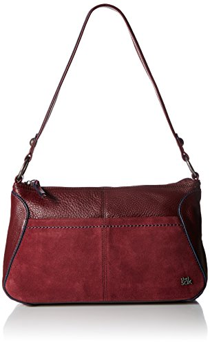The Sak Iris Hobo Shoulder Bag - Cabernet Block - One Size