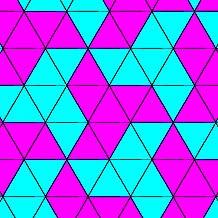Triangle tessellations
