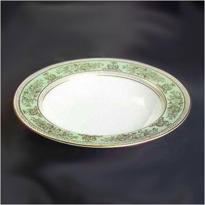(Wedgwood Columbia Sage Green Rim Soup Plate 8-in.)