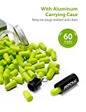 Mpow HP133A Ultra Soft Foam Earplugs 60