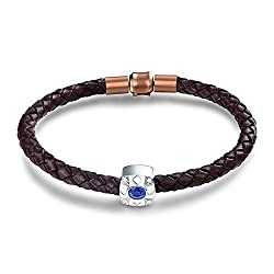 Diamond Sapphire Bracelet for Women