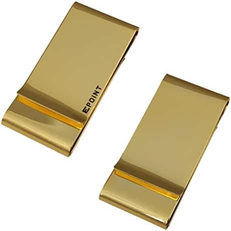 EQA08 Fashion Holy Saturday Stainless Steel Double Money Clip For Men By Epoint