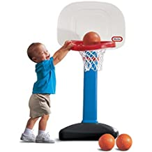 Little Tikes EasyScore Basketball Set, Blue - 3 Ball Amazon Exclusive
