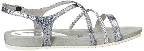 Struct 28106 Bout Sandales EU Silver Silber 927 36 Struct Tamaris Femme Argent 927 Silver Ouvert gqfBfx0
