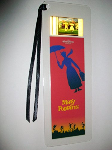 MARY POPPINS Movie Film Cell Bookmark memorabilia Compliments poster dvd book