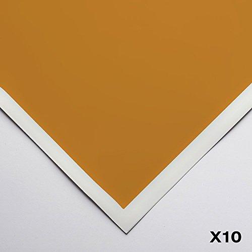 Art Spectrum : Colourfix Smooth : Pastel Paper : 50x70cm : Raw Sienna : Pack of 10 by Art Spectrum