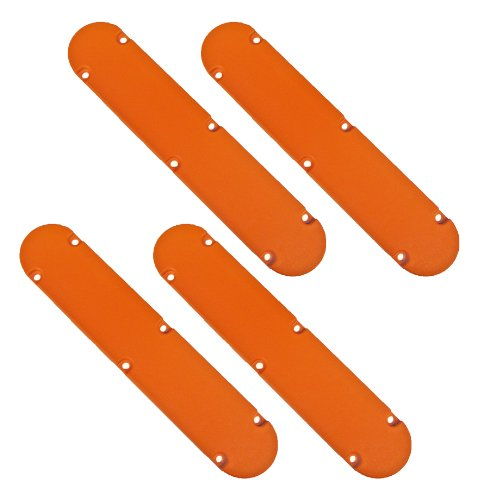 "Ridgid R4120 12"" Compound Miter Saw (4 Pack) Replacement Throat Plate # 089028007011-4pk"