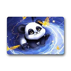 """Custom Panda Doormat Outdoor Indoor 23.6""""x15.7"""" about 59.9cmx39.8cm"""