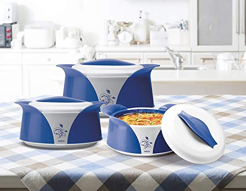 Milton Imperial Jr. Casserole Gift Set of 3, Blue