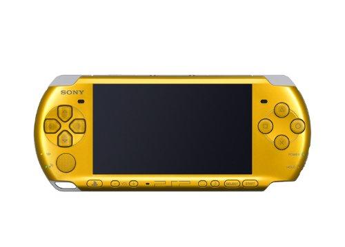 PSP本体「プレイステーション・ポータブル」 ブライト・イエロー(PSP-3000BY) 特典 「ファイナルファンタジーVII インターナショナル」の商品画像