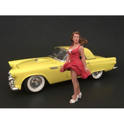 Figur 70er Jahre Figur VIII, 0, Modellauto, Fertigmodell, American Diorama 1 24