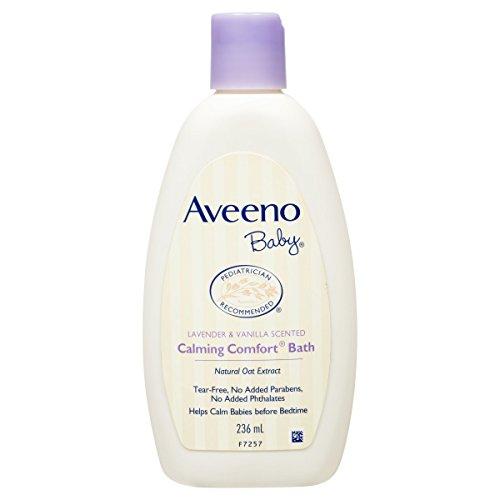 Aveeno lavender baby wash