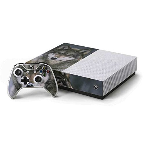 Animal Photography Xbox One S Console and Controller Bundle Skin - Gray Wolf at International Wolf Center | Animals & Skinit Skin by Skinit