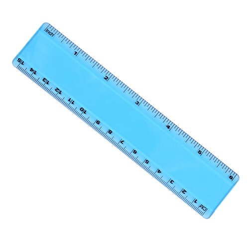 Plastic Measuring Tubes For Electronic Devices : Eboot inch plastic color ruler straight math