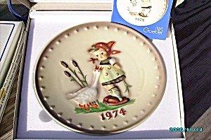 Hummel Annual Plate 1974