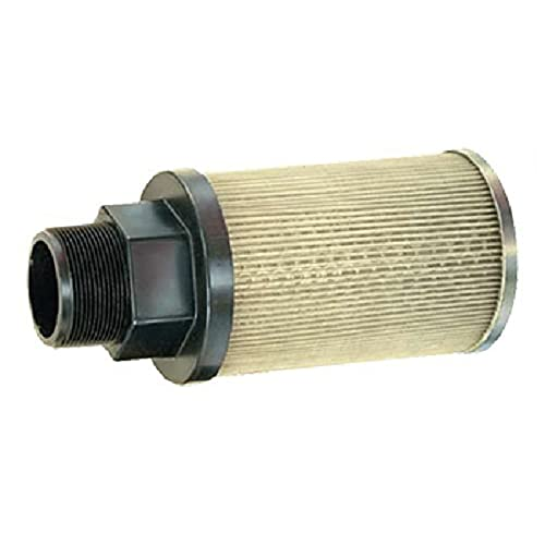 """Nice Flow Ezy Filters, Inc. P5 3/4 60 RV3 Suction Strainer with Nylon Connector End, 5 GPM, 3/4"""" Female NPT, 60 Mesh Size, 3 PSI Relief Valve free shipping"""
